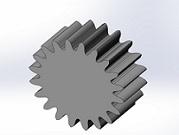 Solidworks 在基于渐开线性质的渐开线齿轮制作过程