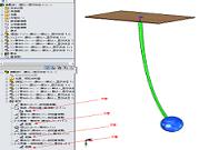 动画模拟小球单摆的视觉效果